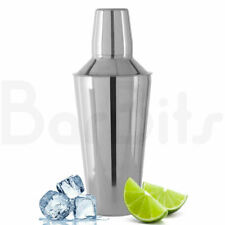 More details for barbits cocktail shaker cocktail making set with built in strainer & measure