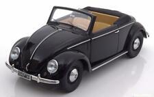 VW KAFER 1200 HEBMUELLER CABRIOLET 1949 BLACK MINICHAMPS 107054232 1/18 SCHWARZ