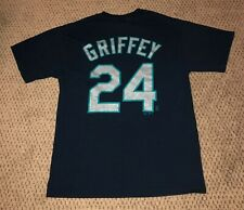 KEN GRIFFEY JR PLAYER T SHIRT BASEBALL SIZE M MEDIUM MAJESTIC SEATTLE MARINERS