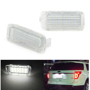 18-SMD LED License Plate Lights for Ford Explorer Escape Expedition Fusion MKC