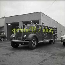 New Holland Pennsylvania PA Mack Truck No. 1 - Vintage Fire Engine Negative