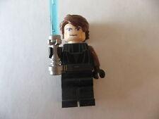 Lego Star Wars Minifigure Anakin Skywalker w/ lightsaber jedi scar FREE SHIP