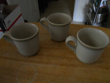 Noritake Stoneware PAINTED DESERT 8603 coffee cups mugs set of 3 EUC