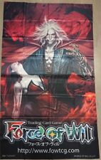 Force of Will FOW TCG G1 Dracula, the Demonic One ORIGINAL WALL BANNER NEW