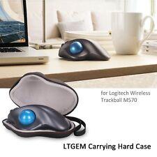 LTGEM EVA Hard Case For Logitech Wireless Trackball M570 Mouse Protective Pouch