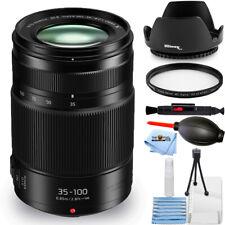 Panasonic Lumix G X Vario 35-100mm f/2.8 II POWER O.I.S. Lens - UV Filter Bundle