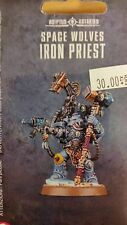 Warhammer 40K SPACE WOLVES IRON PRIEST Tech Marine Blister Pack