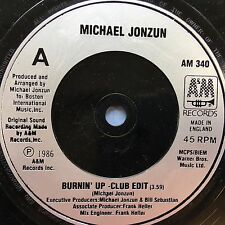 Michael Jonzun - Burnin Up - Club Edit / The World Is A Battlefield - AM-340 VG+