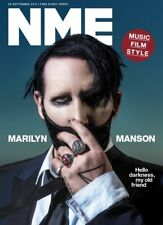 NME Magazine September 22 2017 Marilyn Manson Cover World Exclusive