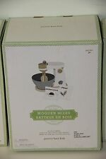 *NEW* Pottery Barn Kids Wooden Kitchen Appliance Mixer Christmas Gift NIB