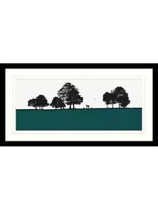 Framed Print & Mount . Immaculate condition. Current stock in John Lewis .