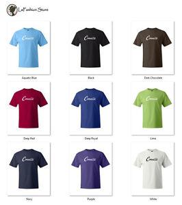 Corvette Classic Car Logo Tee Vintage T-shirts S-5XL