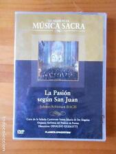 DVD LA PASION SEGUN SAN JUAN - JOHANN SEBASTIAN BACH - LO MEJOR DE LA MUSICA SAC