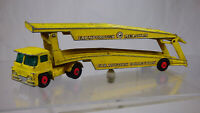 Matchbox Kingsize K 8 Guy Warrior Car Transporter Lorry Truck Yellow Diecast Toy
