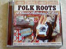 Folk Roots - A Classic Anthology of Song - 20 Songs - Very Rare Imported CD!!