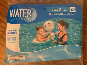 New Sealed Water Sun & Fun Baby Float FREE SHIPPING