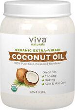 Aceite Comestible De Coco Extra Virgen Sin Refinar Orgánico Natural Suavizante