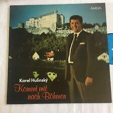 AMIGA LP KAREL HULINSKY - Kommt mit nach Böhmen 8 56 437