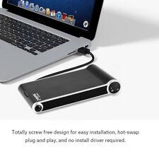 """2 in 1 USB 3.0 a 2.5"""" SATA HDD SDD Esterno Hard Disk Box Case Ricarica Dock"""