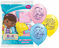 12 Doc McStuffins BALLOONS Princess Birthday Favors Prizes Party Decorations