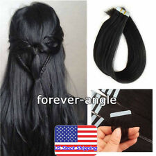 Invisible Seamless Tape in Skin Weft Glue 100% Real Remy Human Hair Extensions