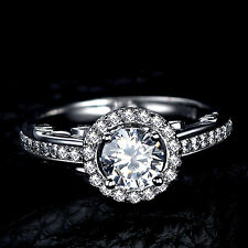 1.50 CT Off White Moissanite Round Vintage Art Deco Engagement Ring 925 Silver