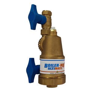New Boiler-m8 Ultimate Brass Magnetic Central Heating System Boiler Filter 22mm