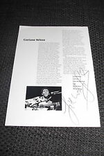 GILBERTO GIL signed Autogramm auf Konzertprogramm InPerson 1993 !!!
