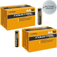 20 Pack Duracell Industrial NOW PROCELL AA Batteries Alkaline MN1500 Exp 2026