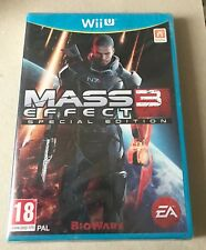 Mass Effect 3: Special Edition (Nintendo Wii U, 2012) PAL - NEW & SEALED Cert 18