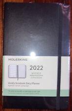 Moleskine 2022 Weekly Notebook Diaryplanner Black
