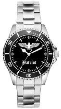 Patriot Patriotismus Geschenk Artikel Idee Uhr 1049
