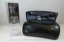 Chanel 5333 c.1462/S2 Rectangular Blue New Authentic Sunglasses 57mm w/Case