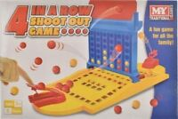 New 4-In-A-Row Shoot Out Game Traditional Connect 4 Family Fun Game Children Kid