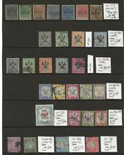 British South + Central Africa Fine Identified Collection of 29 Stamps Cat £418