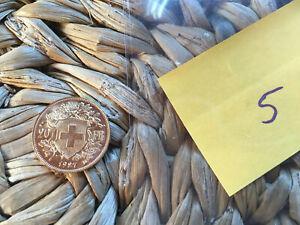 20 franken CHF gold vreneli goldmünze kurantmünze 1927 top zustand #5