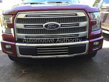 CHROME LOWER GRILLE BUMPER TRIM For FORD F150 2015-2017