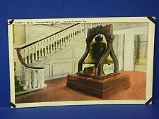 Liberty Bell Independence Hall Philadelphia Pa 1926 Vintage Postcard Pc8