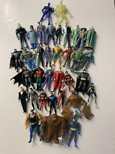 DC Comics Batman Animated Series Loose Figure Lot