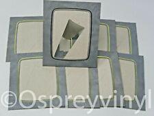 "#39 10x Strut Mount Grey/Gold Marble 4x5"" Photo Presentation Frame School Photo"
