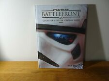 STAR WARS Battlefront * Collector's Edition Strategy Guide * New & Lithographs *