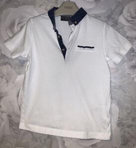 Boys Age 4 (3-4 Years) Next White Polo Shirt
