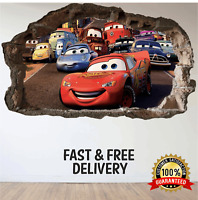 Cars 3 Bedroom Mural Lightning McQueen Wall Art Gaming Sticker eSports Animex