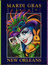 NEW ORLEANS Mardi Gras 'Magic' 1989 - Poster Wall Art