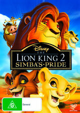 The Lion King 2: Simba's Pride  - DVD - NEW Region 4