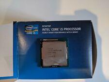 INTEL I5 3570K 3.4GHZ Quad Core CPU LGA 1155 avec Inutilisé stock Fan