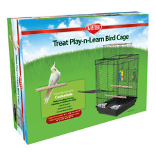 Kaytee Bird Cage Treat Play N Learn open/close top (2 Free Toys ) cockatiel cage
