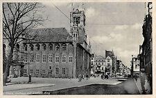 AK Thorn / Toruń  Altstadt, belebte Strasse Feldpost Postkarte 1940