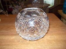 "Waterford Crystal 4"" Glandore Rose Bowl"
