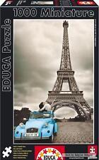 1000 pcs jigsaw puzzle: Miniature - Eiffel Tower, Paris (Famous Places, France)